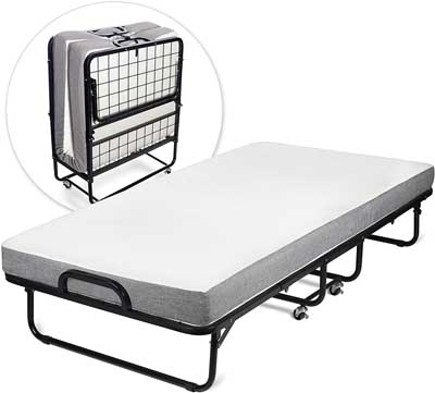 10. Twin Diplomat Folding Bed by Milliard