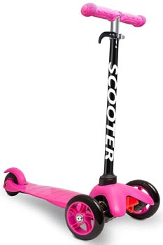 Scooters for Kids Toddler Scooter Lean 2 Turn Wheels Toys Best for Boys & Girls