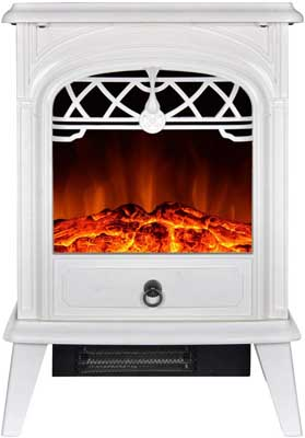 6. GMHome Free Standing Electric Fireplace