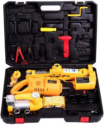 9. Electric Scissor Jack and Electric Impact Wrench by MOTORMAN TOOLS