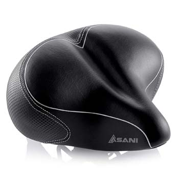 Oversized Comfort Bike Seat by Asani