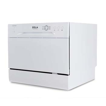 DELLA Portable Compact Countertop Dishwasher