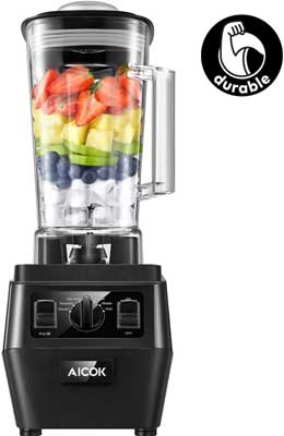 3. Countertop Blender for Smoothies and Shakes by AICOK