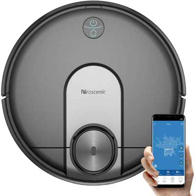 6. Proscenic Robot Vacuum Cleaner