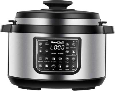 3. Geek Chef Multi Cooker