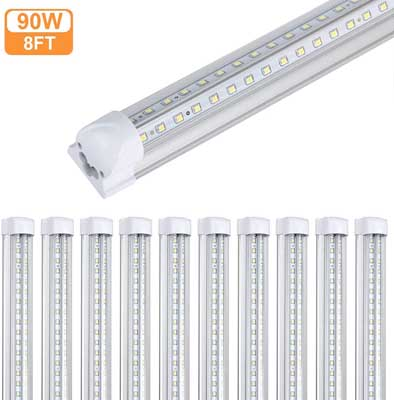 8. 8 Foot LED Tube Light for Warehouse by GAYUSAN