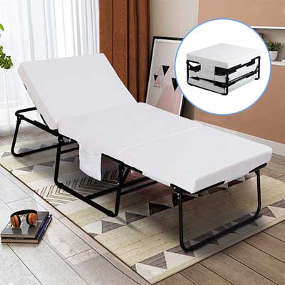 9. Foldable Folding Bed by Mecor
