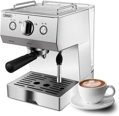 2. Stainless Steel Coffee Maker Machine by Barsetto