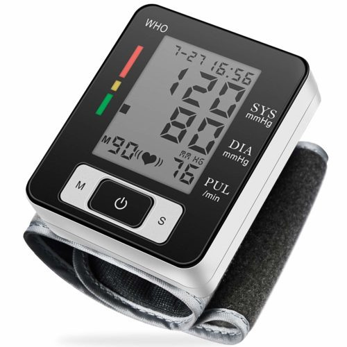Blood Pressure Monitor Fully Automatic Accurate Wrist Blood Pressure Monitor
