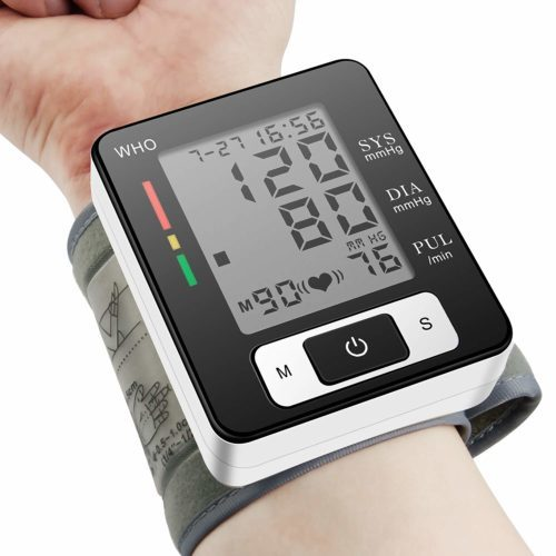 Blood Pressure Monitor, Portable Home Care Electronic Blood Pressure Watch