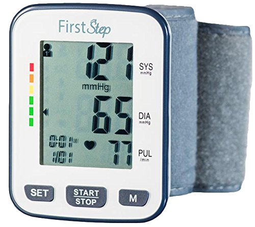 Click image to open expanded view First Step For Wellness-Wrist Blood Pressure Monitor-bp