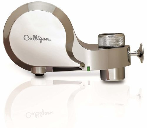 Culligan FM-100-C Faucet Mount Water Filter with Life Indicator