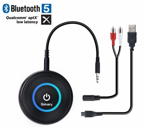 Golvery Bluetooth 5.0 Transmitter and Receiver