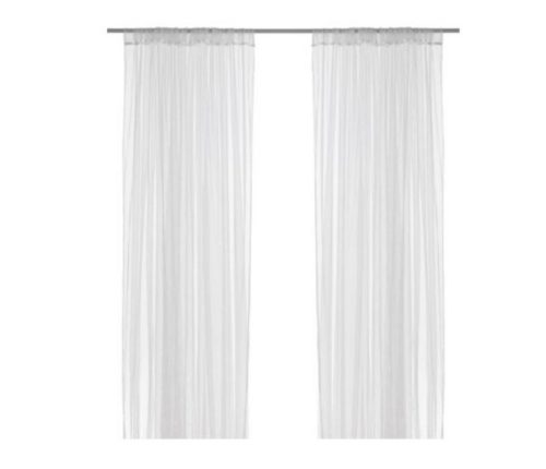 IKEA LILL mesh lace curtains, 8 panels