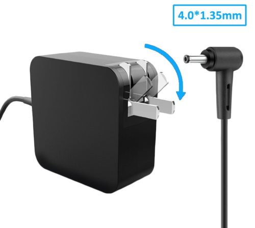 Laptop Charger 45W 19V 2.37A Slim AC Adapter