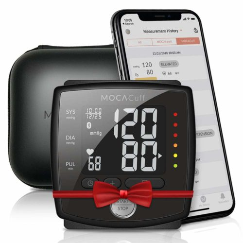 MOCACuff Bluetooth Blood Pressure Monitor, Fully Automatic Accurate Wrist