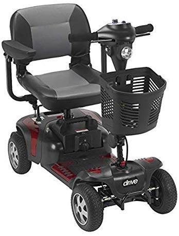 "Phoenix 4 Wheel Heavy Duty Scooter by Drive Medical, 20"" Wide Seat Includes 5 Year Protection Plan"