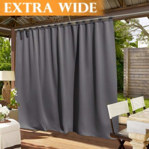 RYB HOME Outdoor Curtains 100 inches