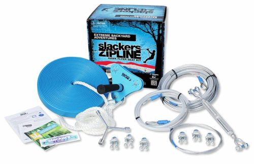 Slackers Zipline 70' Hawk Series with Seat