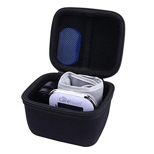 Storage Organizer Hard Travel Case for Care Touch BP Wrist Blood Pressure Monitor