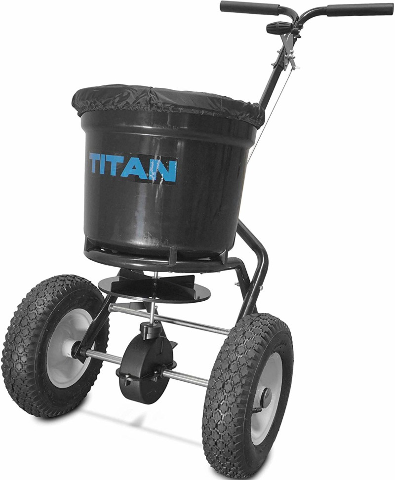 Titan 50 Lb. Fertilizer Broadcast Spreader