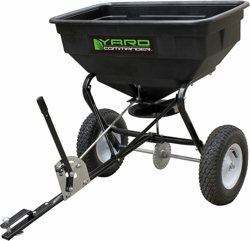 Yard Commander 125LB Tow Behind Spreader