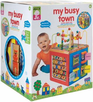 #1. ALEX Toys My Busy Town Activity Cube
