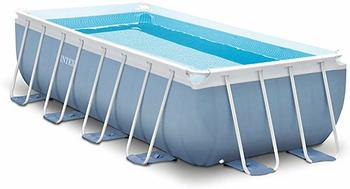 #10. Intex Prism Frame 16ft X 8ft X 42in Rectangular Pool Set