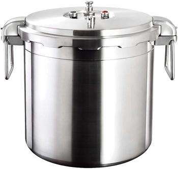 #11. Buffalo QCP430 Stainless Steel Pressure Cooker 32-Quart