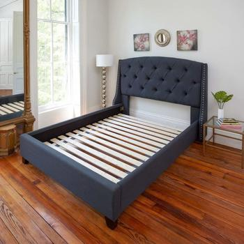 #2. Classic Brands Attached Solid Wood Bed Slats