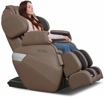 #3. RELAXONCHAIR [MK-II Plus] Zero Gravity Shiatsu Full Body Massage Chair with Air Massage System and Built-in Heat - Chocolate