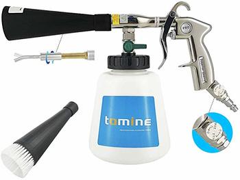 #4. TOMINE Car Cleaning Gun Kit with Air Regulating Valve