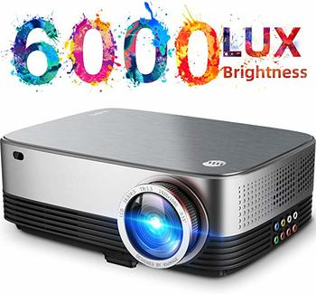 #5. JVIVIMAGE C680 Led Projector