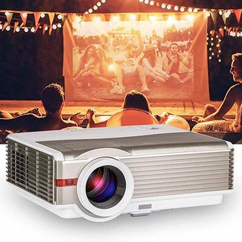 #6. EUG 5000Lumens LCD LED 1080P HD Projector