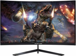 6. Sceptre 27 Curved 144Hz Gaming LED Monitor