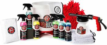 #7. Adam's Polishes 17 Piece Arsenal Builder Car Wash Kit with Car Shampoo Soap