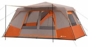 7. Ozark Trail 11 Person 3 Room Cabin Tent