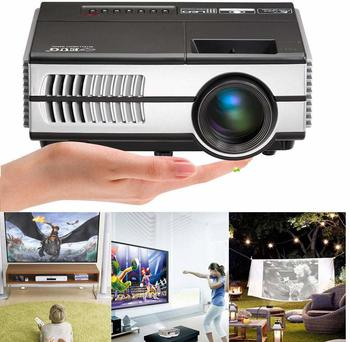 #7.Portable LCD LED Projector HD 1080P Mini Video Projectors Multimedia