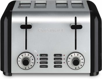 9. Cuisinart CPT-340 Compact Stainless 4-Slice Toaster