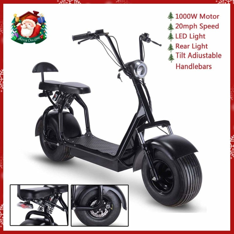 Fat Tire Adult Scooter by Rugged
