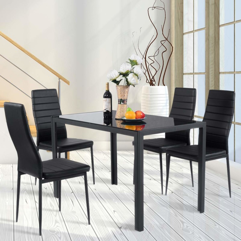 Giantex 5 Piece Kitchen Dining Table
