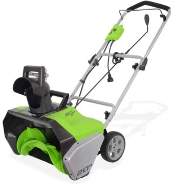 Greenworks Electric Snow Blowers