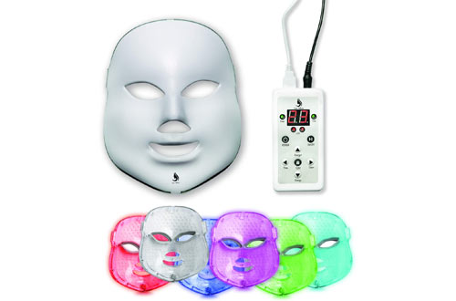 Lexi White Beauty Red Light Therapy LED Face Mask - LED Mask Therapy Facial Photon