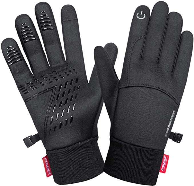 Lanyi winter touchscreen windproof gloves