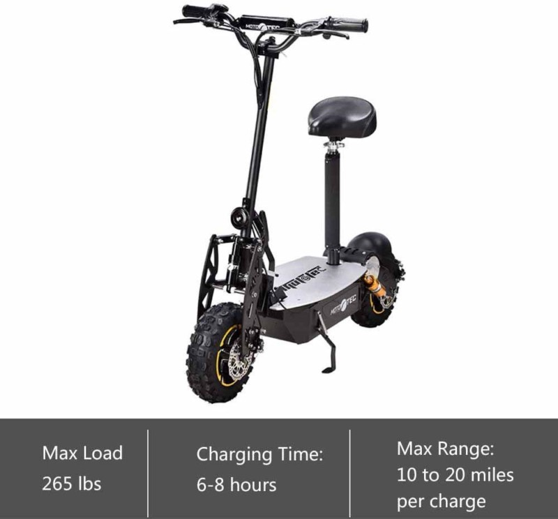 Moto Tec Adult Electric Scooter