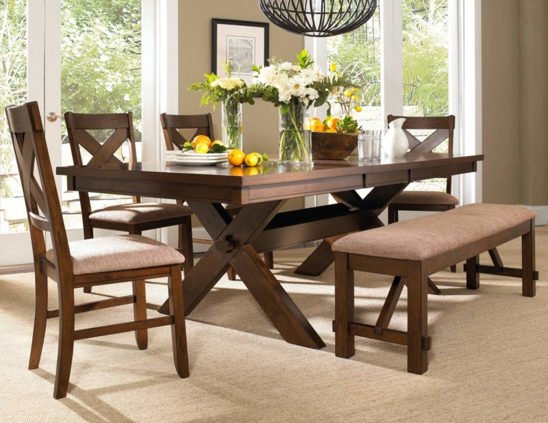 Roundhill Furniture Dining Set with Table
