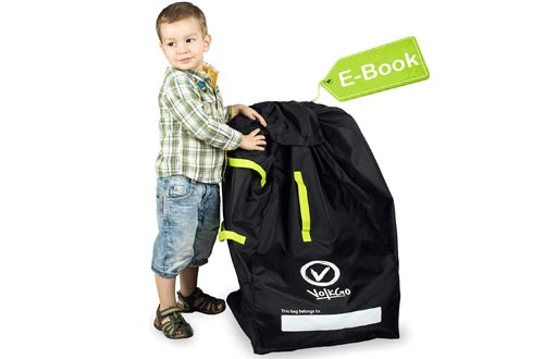 VolkGo Durable Car Seat Travel Bag with E-Book