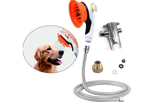 1. Buy-plus Pet Shower Sprayer Tool Kit