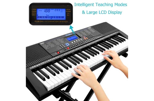 1. Electric Keyboard Piano by Ohuhu