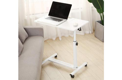 1. Rolling Laptop Table by TigerDad